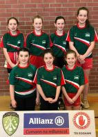Girls' Indoor Football, Omagh: Heat 6